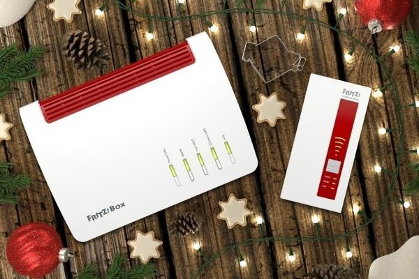 FRITZ vernetzt Ihre Weihnachtsgeschenke